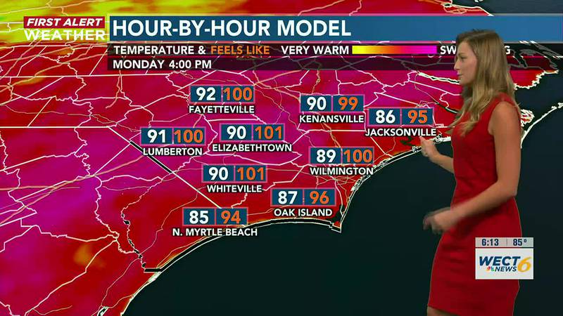 Your First Alert Forecast from Sun. evening, July 25, 2021