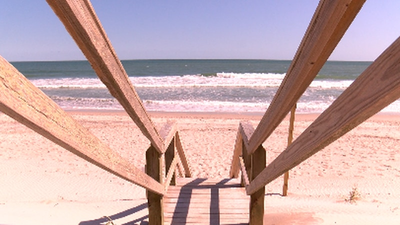 Two men have drowned off of Topsail Island in less than a week. (Source: WECT)