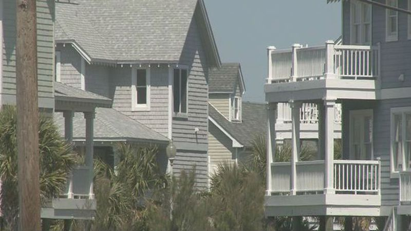 More than half of homeowners on North Topsail Beach cannot get federal flood insurance so they...