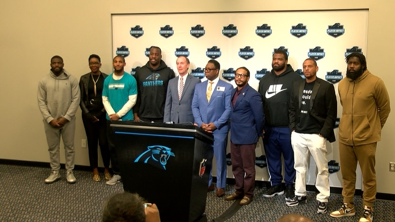 The Carolina Panthers Player Impact Committee and the David Tepper Charitable Foundation are...