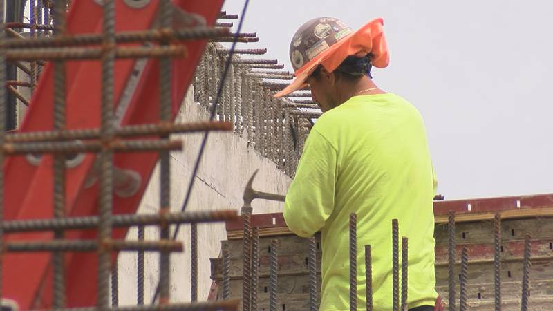 Construction underway on water treatment plants