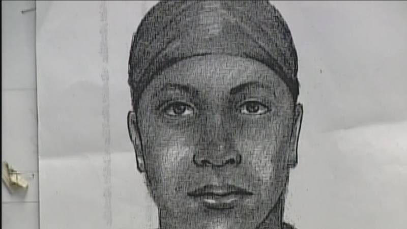 The Downtown Wilmington area was plastered with pictures of a wanted sexual predator.