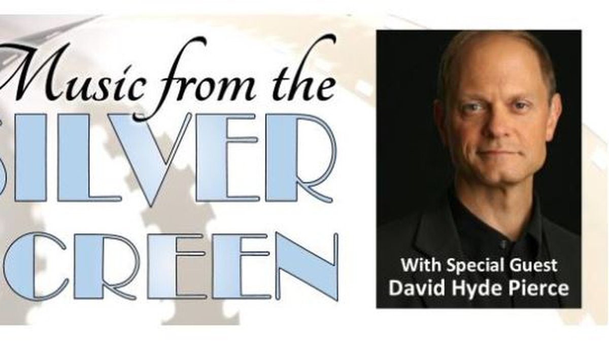 """David Hyde Pierce joins the Wilmington Symphony Orchestra for its """"Music from the Silver..."""