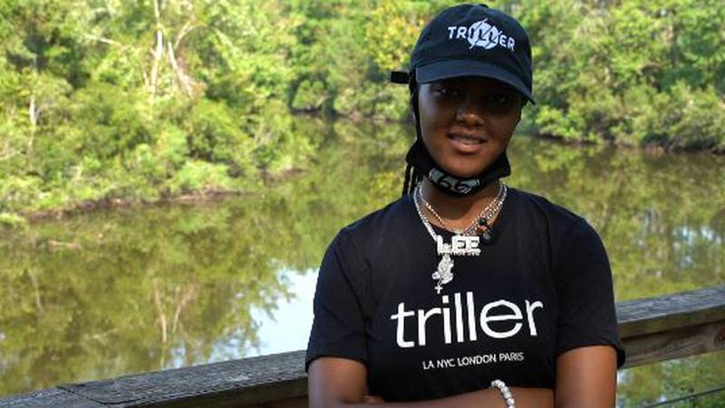 """Lee recently won the """"Step up to the Mic 2020"""" contest sponsored by Triller."""