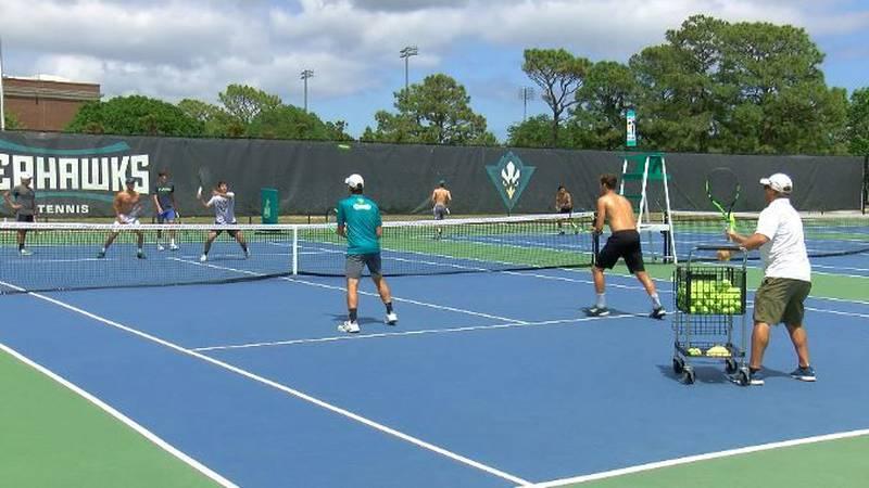 UNCW men's tennis ready to battle Vols in NCAA tournament (Source: WECT)
