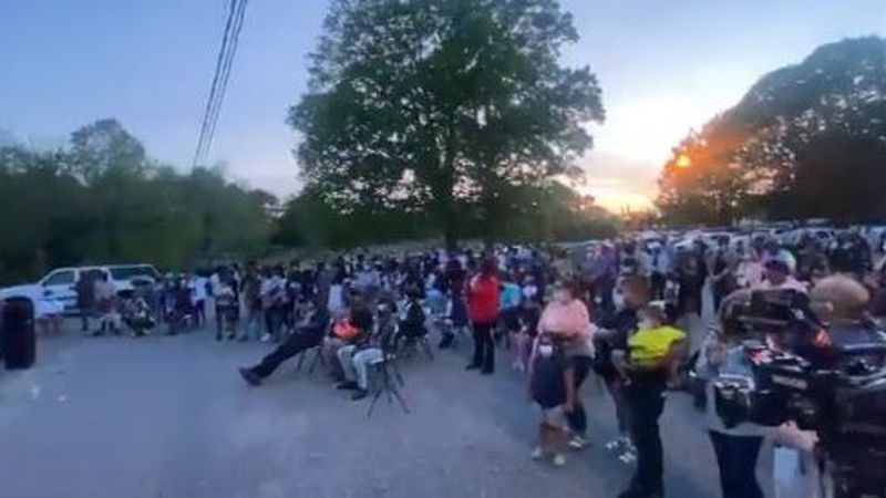 Vigil for 7-year-old in Hickory