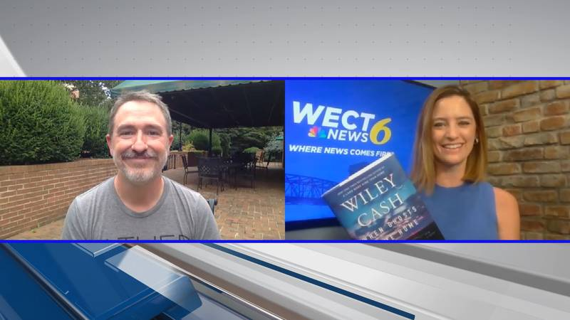 """Bestselling author Wiley Cash talks about his new novel """"When Ghosts Come Home"""" with WECT's..."""