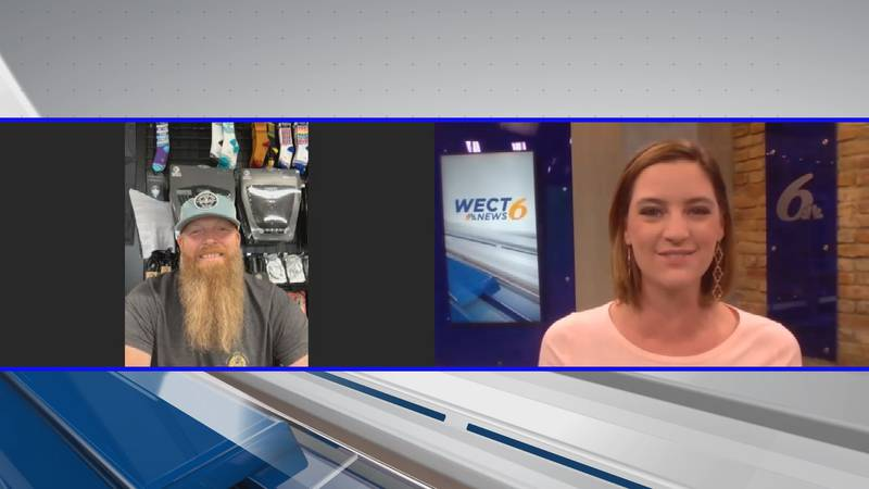 Chad Davis from the Carolina Surf Film Festival talks about the return of the event. (Source:...