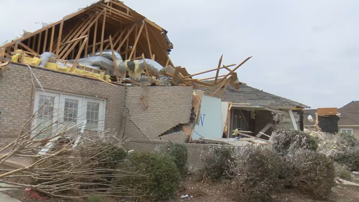 Residents of Ocean Ridge Plantation in Brunswick County are picking up the pieces after an EF-3...