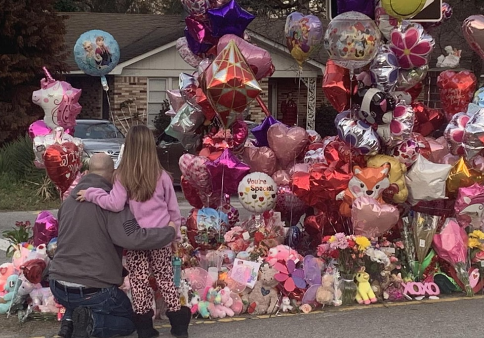Community comes together to preserve Faye's memorial and ease financial burdens