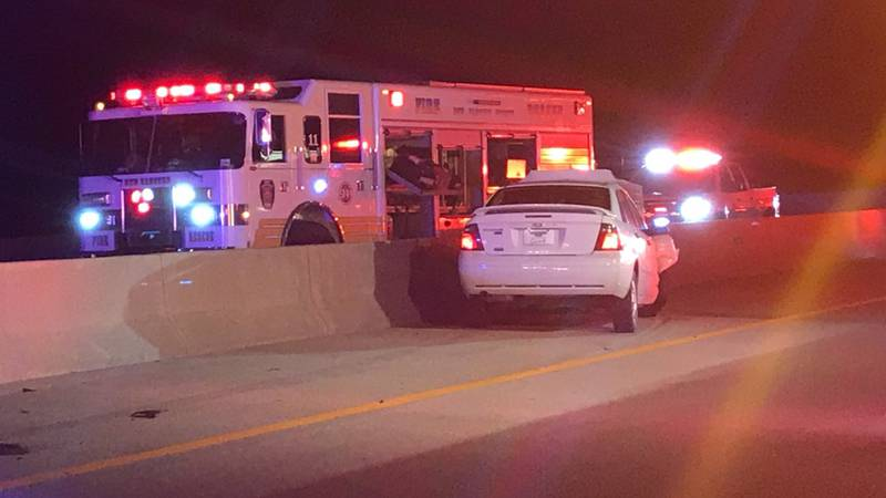 Accident on Dan Cameron Bridge (Source: WECT)