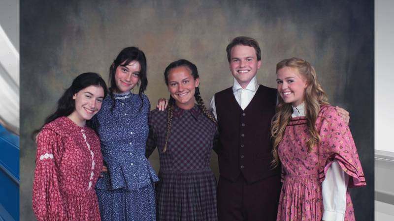 The cast of 'Little Women' (Source: Jason Aycock)