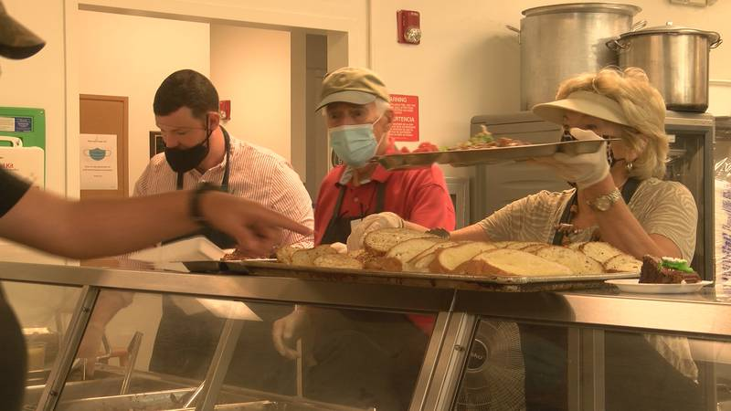 The Good Shepherd Center Soup Kitchen is now reopened.