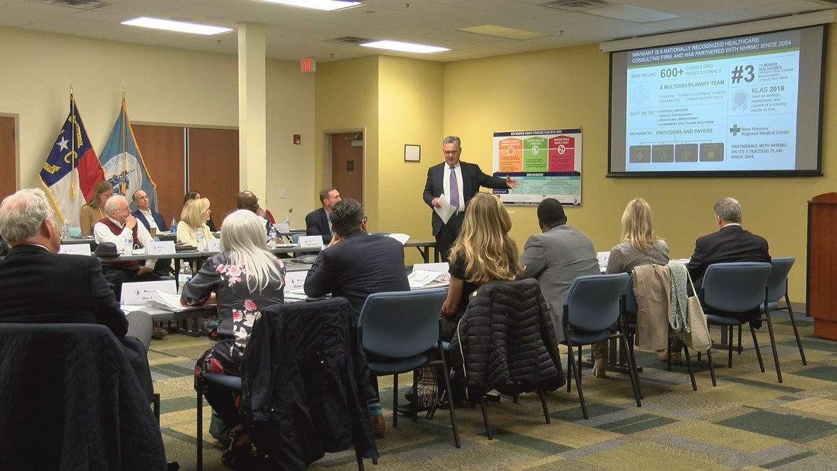 The Partnership Advisory Group in charge of exploring the future of NHRMC gets a primer on the...