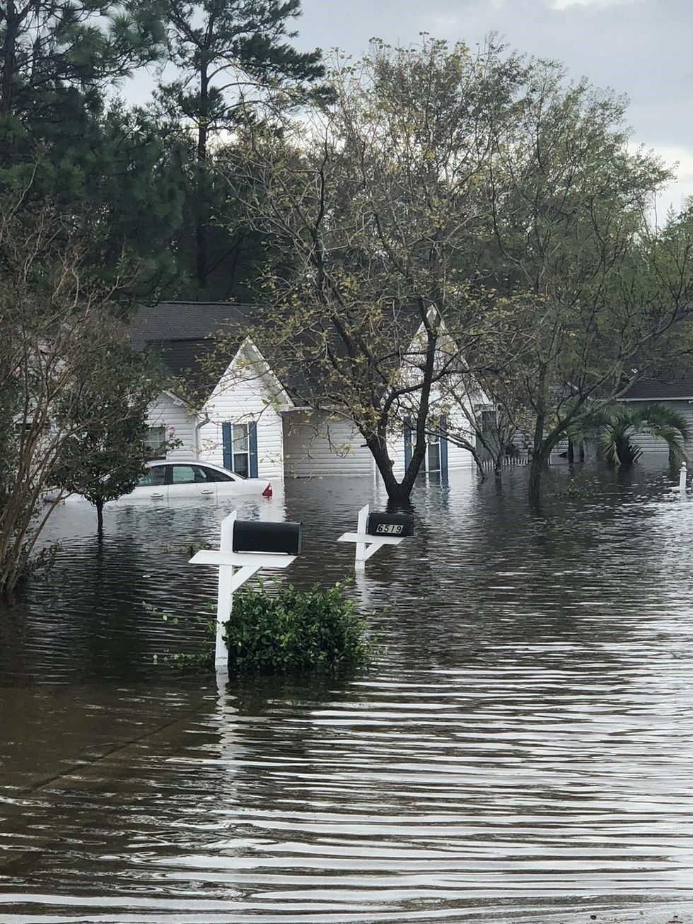 Homes saw significant flooding during Hurricane Florence (Source: Mattie McMurray)