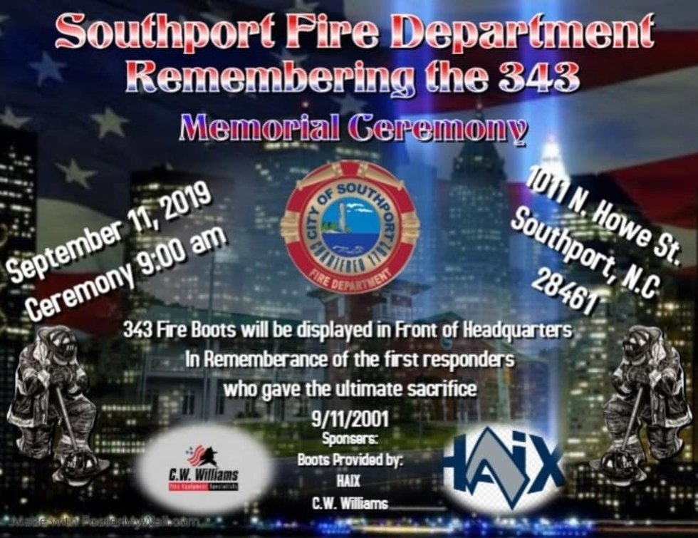Southport Fire hosted a ceremony Wednesday morning.