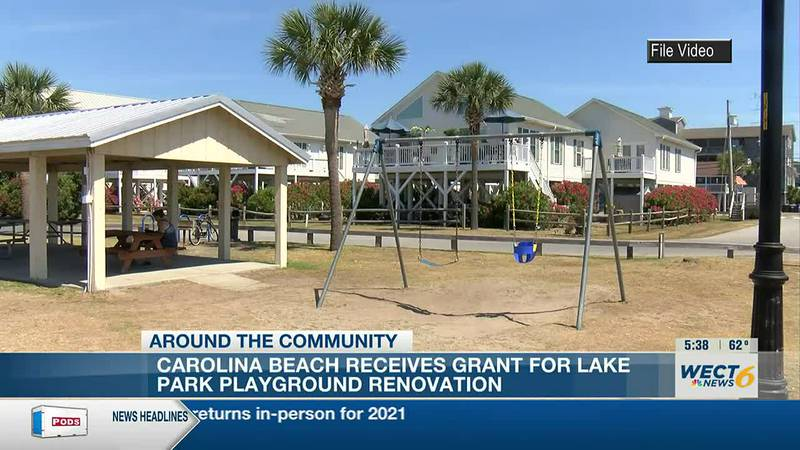 Town of Carolina Beach receives conservation grant for Lake Park playground updates