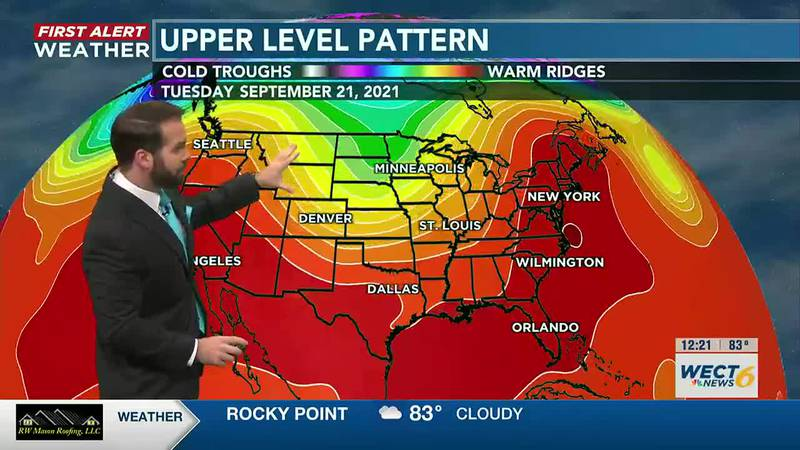 Your First Alert Forecast from Fri. Afternoon, Sep. 17, 2021