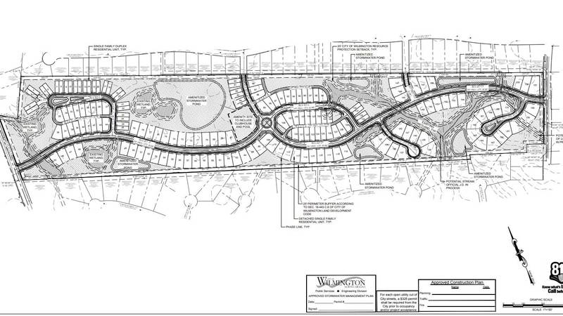 The development would be located near the Masonboro Loop Road-Beasley Road intersection between...