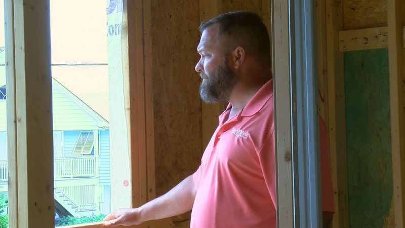 Keith Bloemendall is the brains and sweat behind Dutch Built Homes. (Source: WECT)