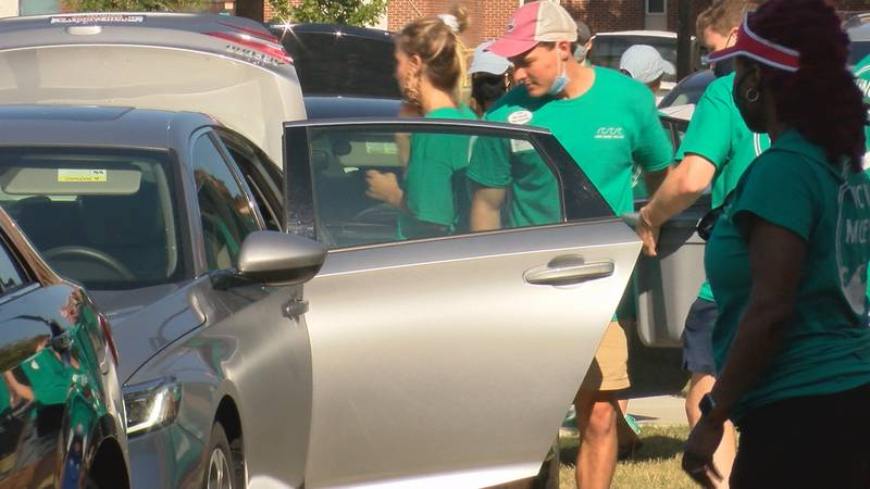 UNCW move-in