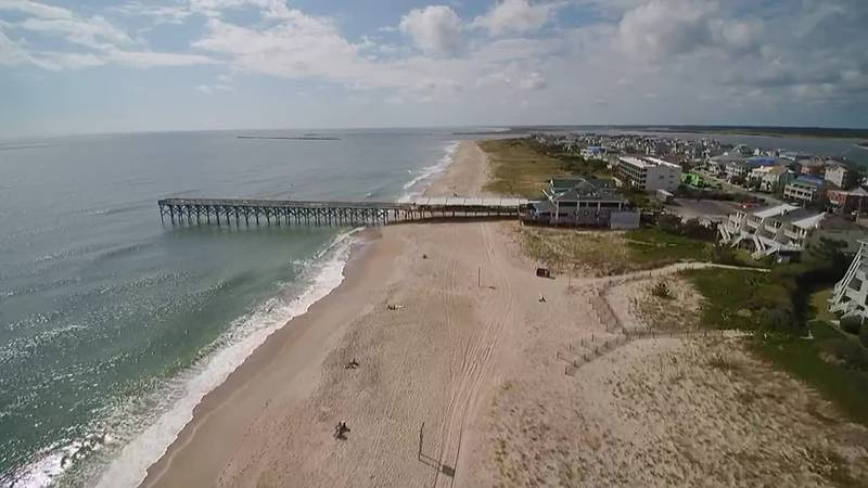 SKY TRACKER: A look over Wrightsville Beach