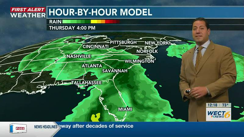Your First Alert Forecast from Mon. afternoon, Oct. 25, 2021...