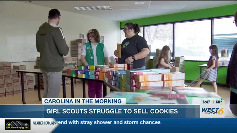 15 million boxes equates to about $60 million dollars in lost revenue  that the Girl Scouts are...