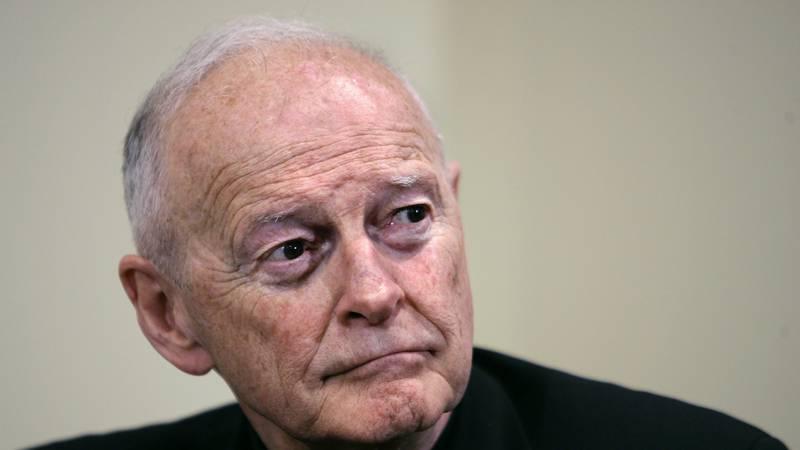 FILE — In this May 16, 2006 file photo former Washington Archbishop, Cardinal Theodore...