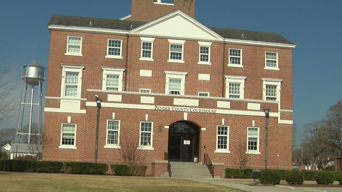 Pender County Courthouse sustaines damages causing staff to work in less than ideal conditions