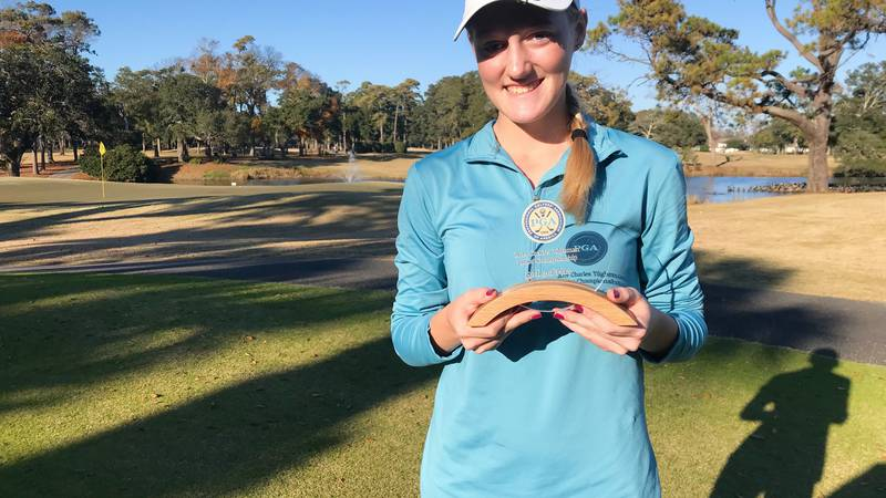 Laney High School graduate Grace Holcomb of Wilmington has qualified for the 72nd U.S. Girls'...