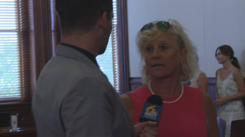Julia Olson-Boseman refused to answer questions about the allegations made against her on...