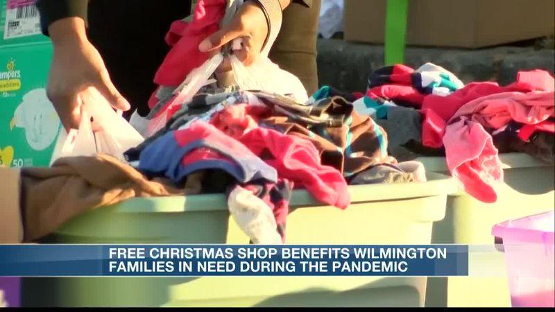 Free Christmas Shop benefits Wilmington families
