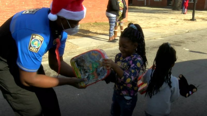 For nearly 30 years, Wilmington police officers have taken needy children shopping this time of...