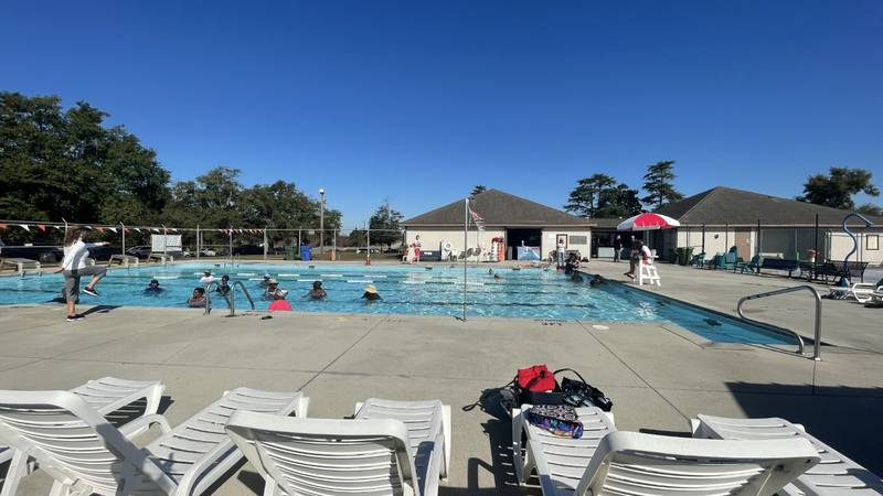 NSEA Swim and City of Wilmington partnered with the American Red Cross.