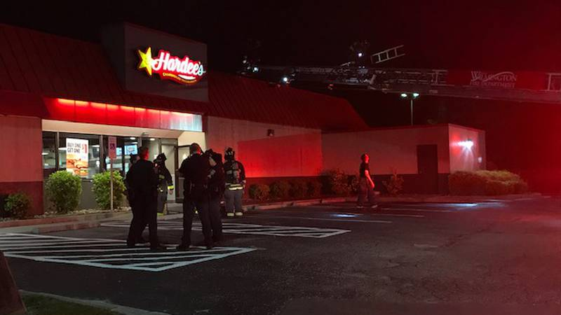 Air conditioning unit causes minor fire