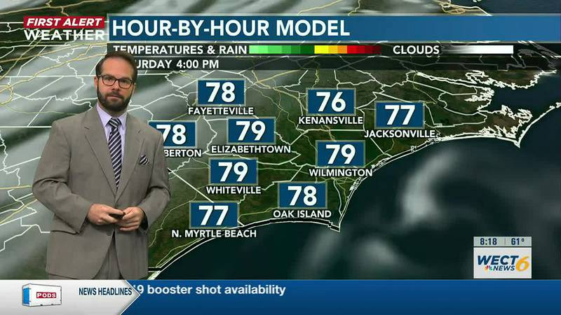 Your First Alert Forecast from Sat. morning, Sep. 25, 2021