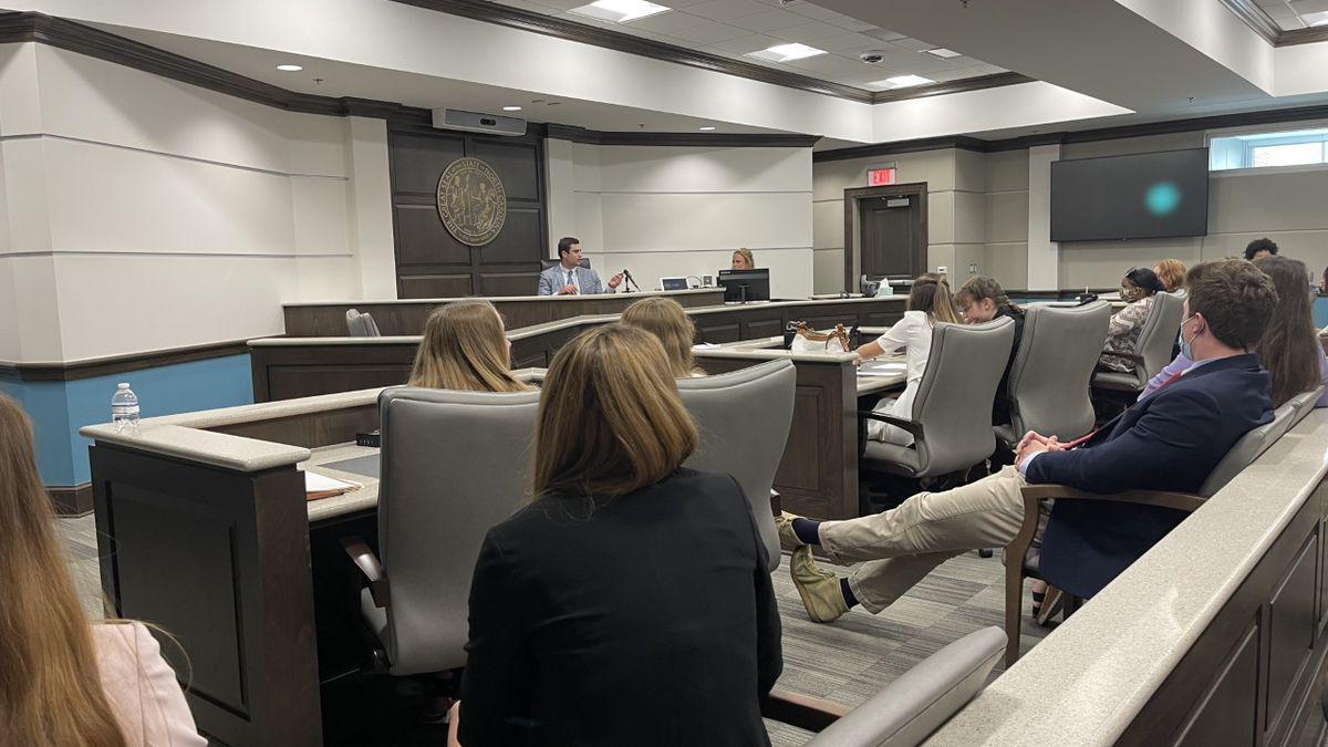 Students experienced a behind-the-scenes insight into the workings of the courthouse and the...
