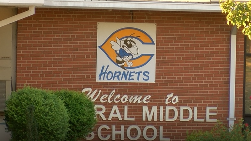 Several shots fired call have forced Central Middle School lockdowns