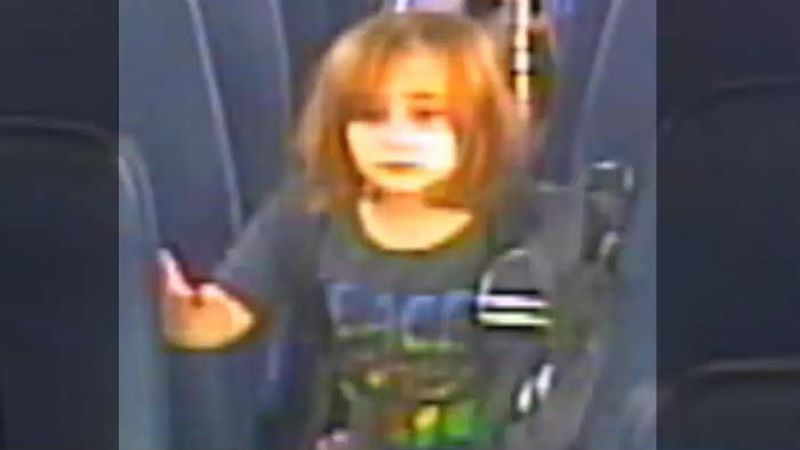 Authorities released new surveillance footage of Faye Swetlik exiting her school bus Monday...