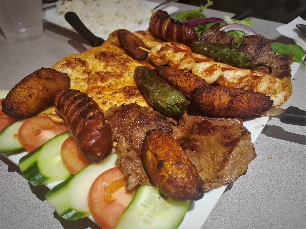 A veritable feast, the Parrillada is meant to be shared...and can easily feed a small group.