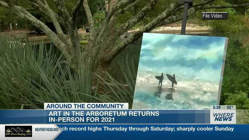 Art in the Arboretum returns in-person for 2021