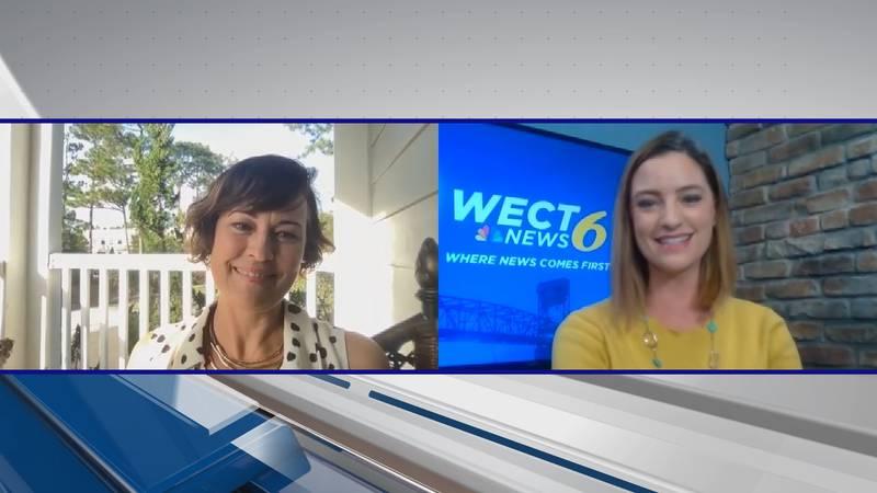 Actress Sydney Penny recently spoke with WECT's Ashlea Kosikowski (Source: WECT)