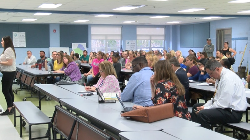 Parents of Brunswick County Schools students voiced their concerns at Monday's meeting....