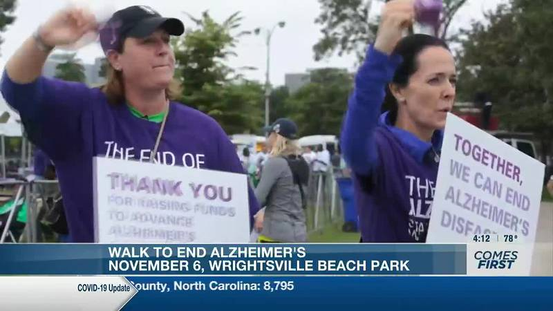 The Walk to End Alzheimer's is Nov. 6 at Wrightsville Beach Park