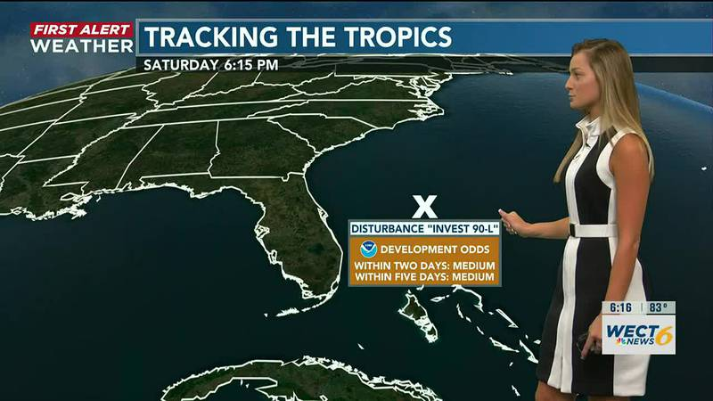 Your First Alert Forecast from Sat. evening, July 24, 2021