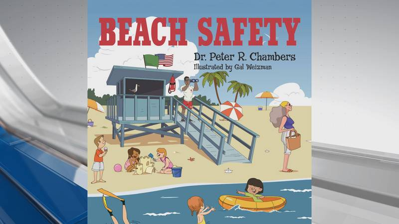 Dr. Peter R. Chamber's new book 'Beach Safety' (Warren Publishing / Pipevine Press)