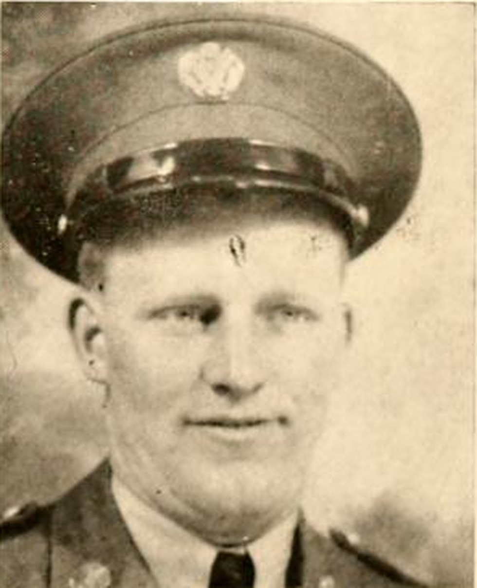 PFC Carl C McCauley. (source: FindAGrave.com)