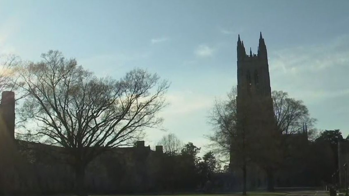 At least 23 Duke University students have tested positive for COVID-19 as the university...
