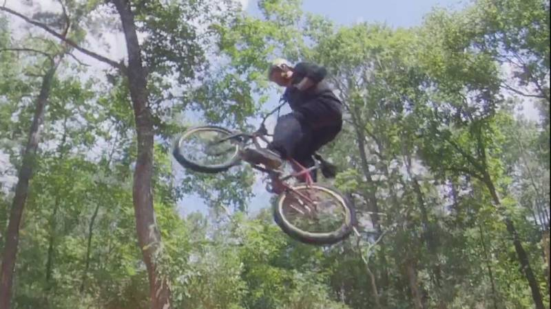 Former BMX World Champion Ryan Nyquist is back home in Wilmington after coaching the first U-S...